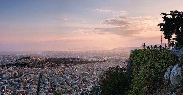 Athens goodbye, Lycabettus