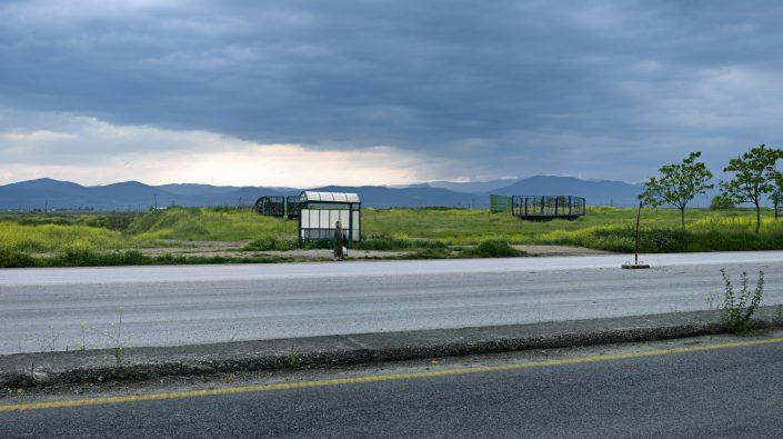 Bus stop, Trikala