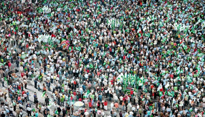 Greens (PASOK) - Political Rally of major party Part II