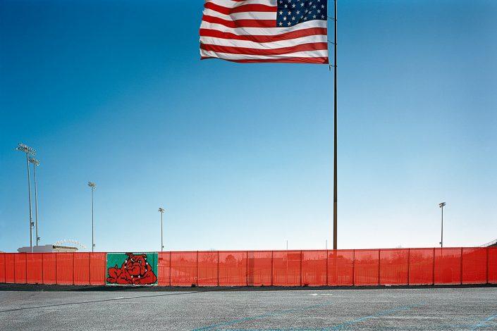 Football field, New Mexico