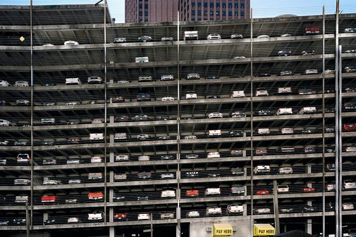 Parking buildings, Houston, Texas