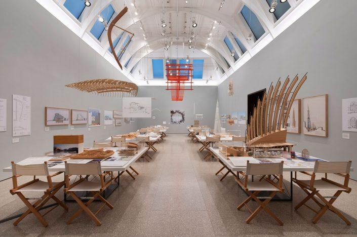 Renzo Piano: The Art of Making Buildings' έκθεση στη Βασιλική Ακαδημία των Τεχνών, Λονδίνο, (15 Σεπτεμβρίου 2018 - 20 Ιανουαρίου 2019) © Royal Academy of Arts, London; φωτογραφία: Marcus J. Leith